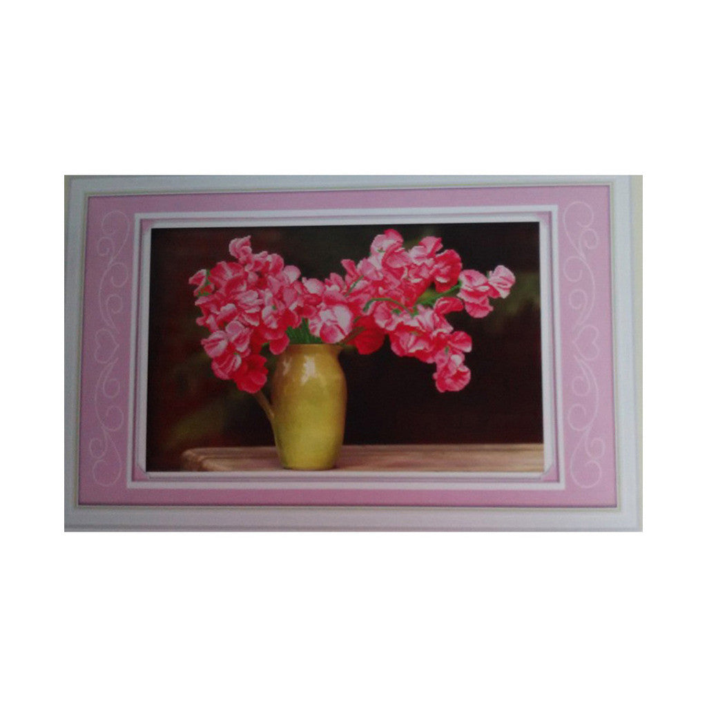 3D Diamond Painting Round Diamond Azalea DIY Diamond Paste Diamond Stitch - Mega Save Wholesale & Retail