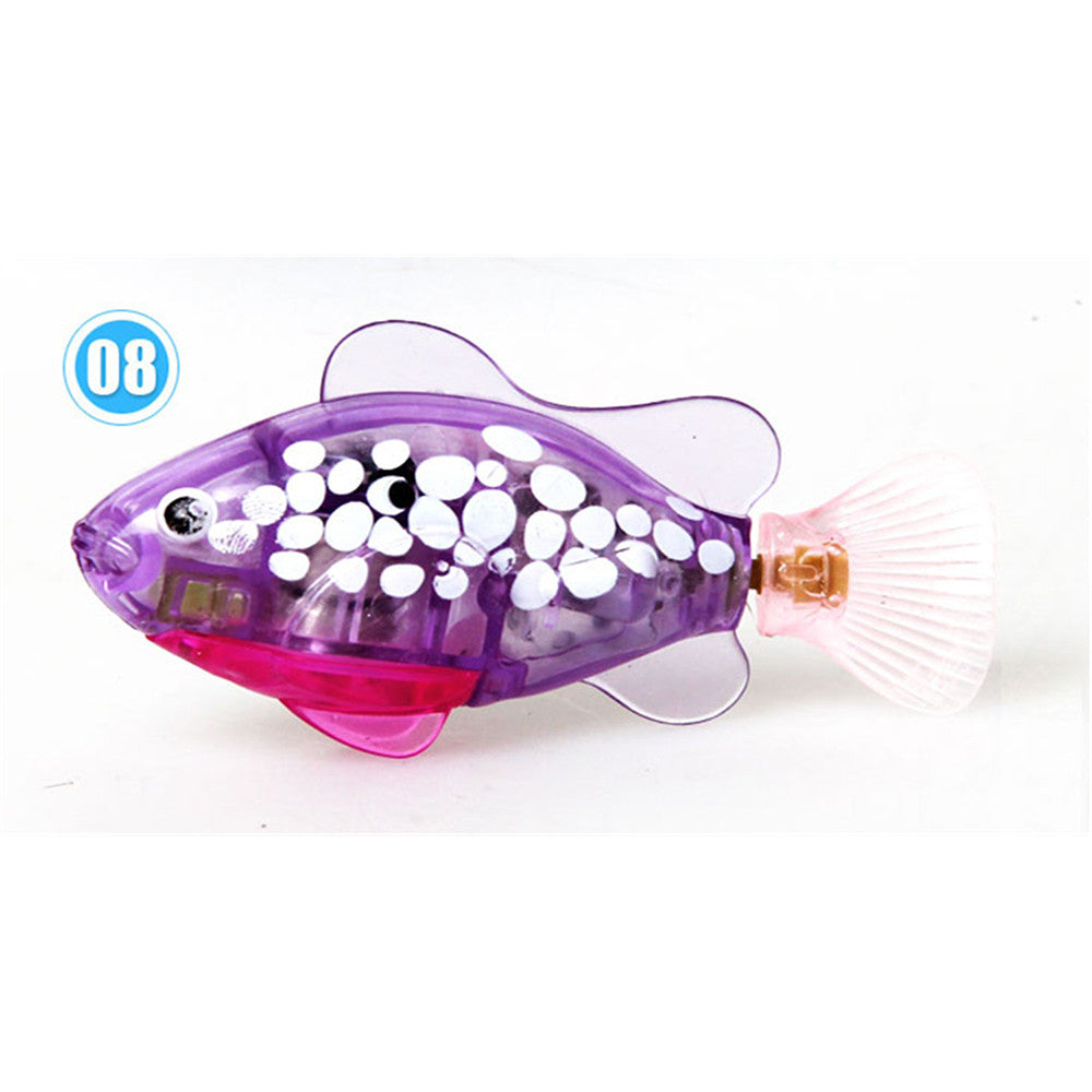 Happy fish magical music Turbot lighting electronic pet fish clown fish shark   01 - Mega Save Wholesale & Retail - 8