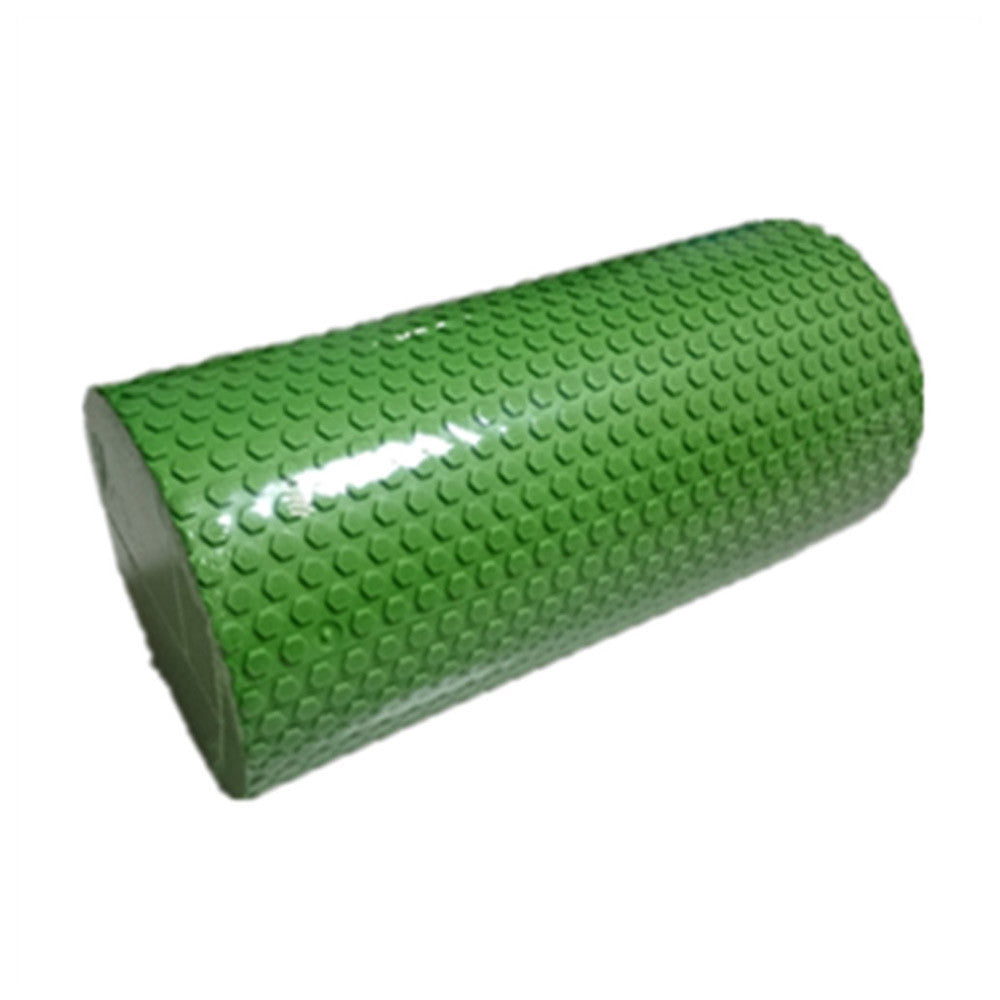 Yoga Gym Pilates EVA Soft Foam Roller Floor Exercise Fitness Trigger 30x14.5cm Green - Mega Save Wholesale & Retail - 1