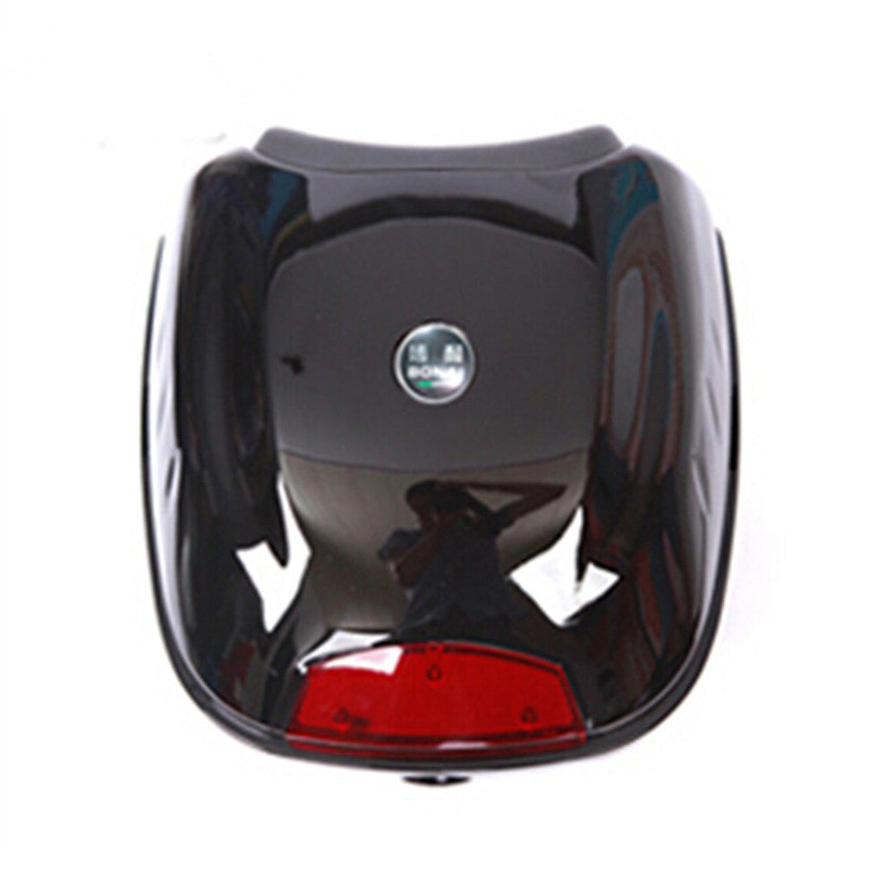 Motorcycle Box Luggage 28L Top Tail Rear Storage Black - Mega Save Wholesale & Retail - 1