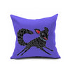 Cotton Flax Pillow Cushion Cover Comprehensive    BZ057 - Mega Save Wholesale & Retail