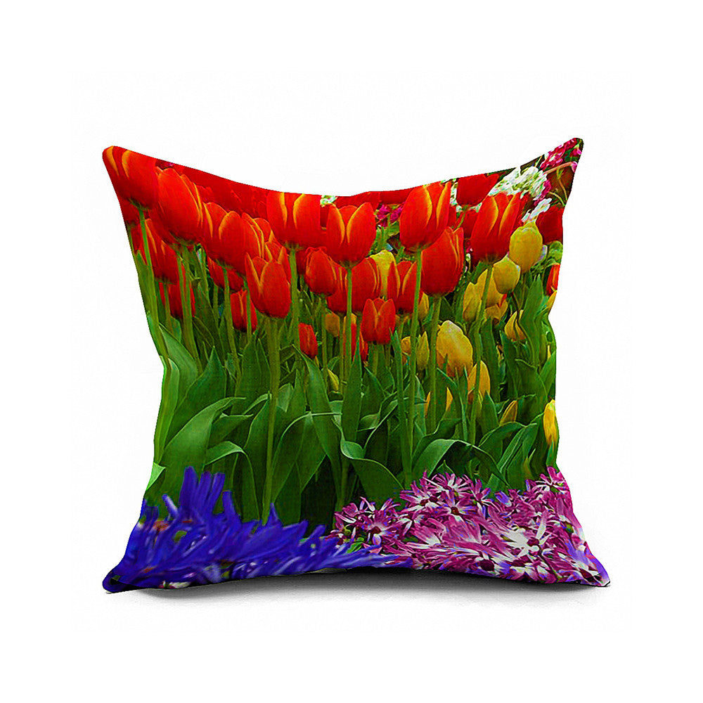 Cotton Flax Pillow Cushion Cover Comprehensive    BZ308 - Mega Save Wholesale & Retail