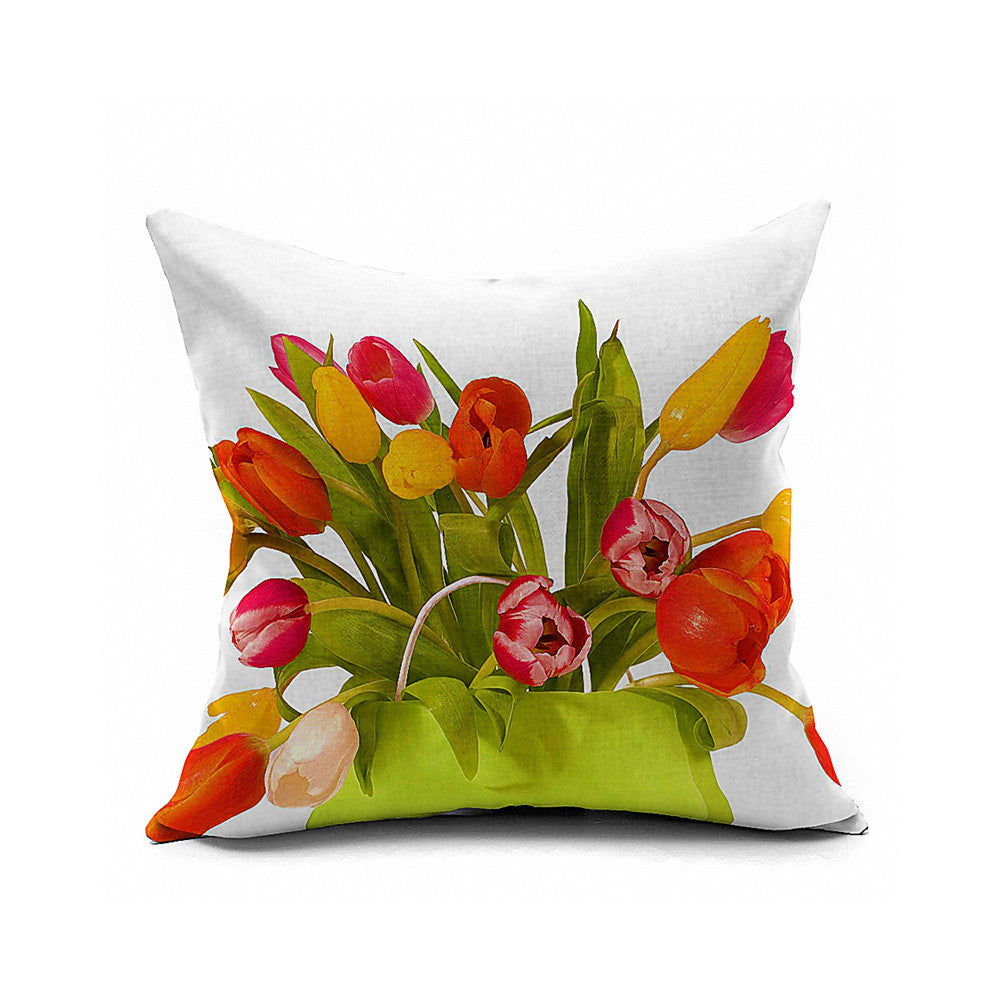 Cotton Flax Pillow Cushion Cover Comprehensive    BZ328 - Mega Save Wholesale & Retail