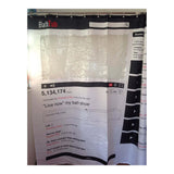 Black Tree White Fabric Bathroom Shower Curtain Polyester with 12 Hooks - Mega Save Wholesale & Retail - 12