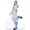 Unisex Adult Pajamas Cosplay Costume Animal Onesie Sleepwear Suit    Blue Unicorn - Mega Save Wholesale & Retail