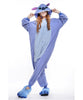 Unisex Adult Pajamas  Cosplay Costume Animal Onesie Sleepwear Suit   blue  stitch - Mega Save Wholesale & Retail