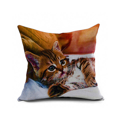 Cotton Flax Pillow Cushion Cover Animal   DW017 - Mega Save Wholesale & Retail