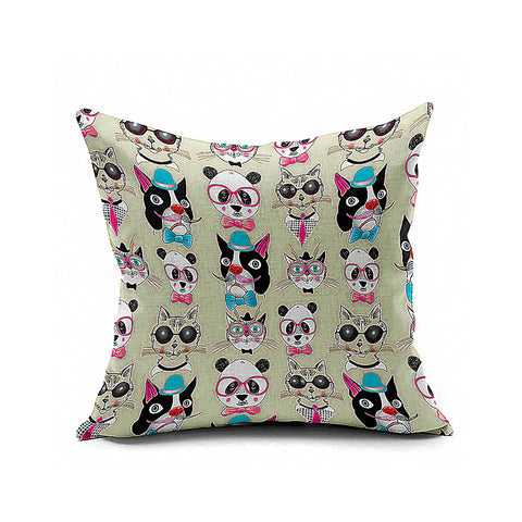Cotton Flax Pillow Cushion Cover Animal   DW021 - Mega Save Wholesale & Retail