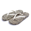 New Korean Version of Flat Flip Flop Womens Sandals Online in Casual Summer Style & Gold Leopard Print Design - Mega Save Wholesale & Retail - 1