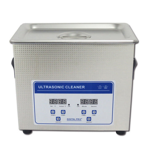 2.0L Professional Digital Ultrasonic Cleaner Machine with Timer Heated  Stainless steel Cleaning tank - Mega Save Wholesale & Retail