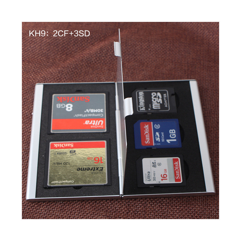 Metal Multifuntional Card Box PSV CF SD TF Memory Card Storage Box KH9    6PSV - Mega Save Wholesale & Retail - 7