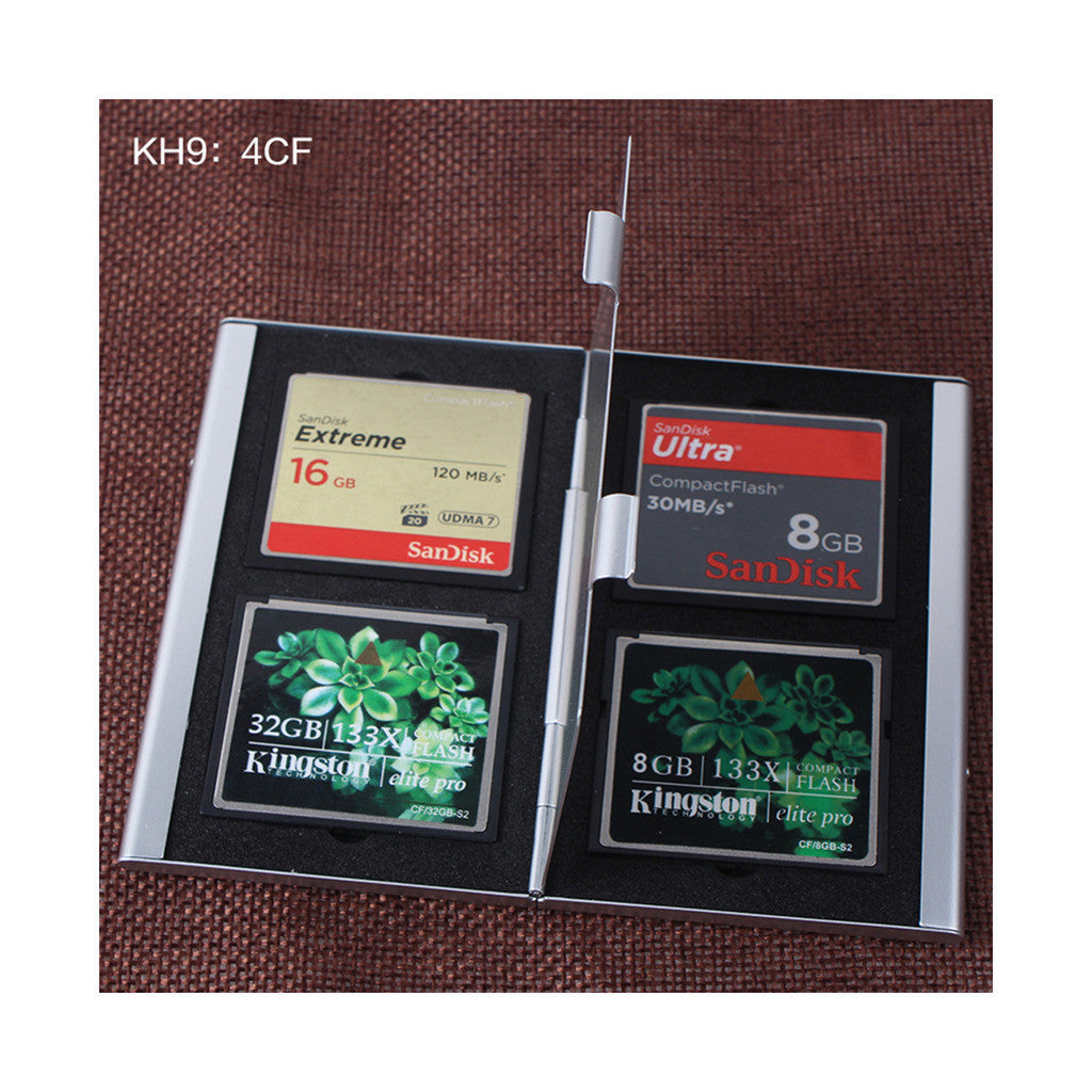 Metal Multifuntional Card Box PSV CF SD TF Memory Card Storage Box KH9    6PSV - Mega Save Wholesale & Retail - 10