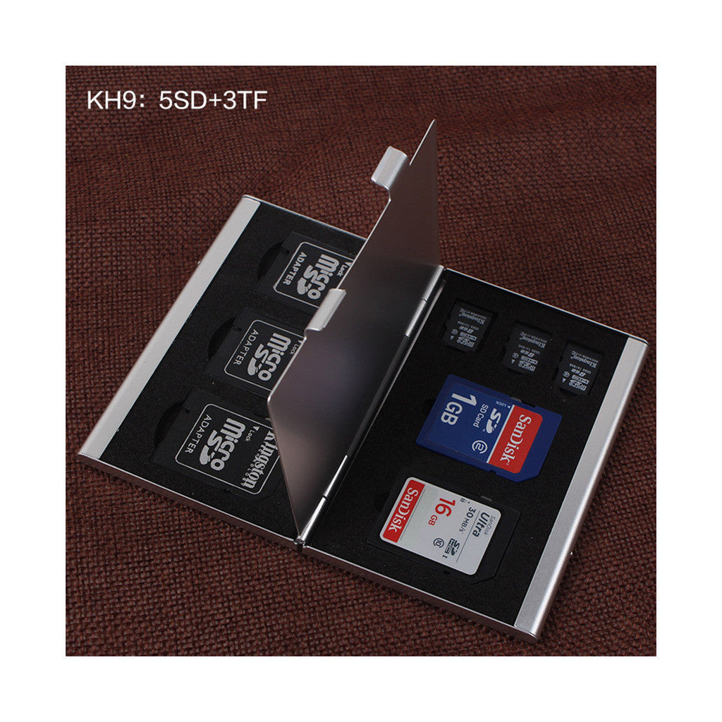 Metal Multifuntional Card Box PSV CF SD TF Memory Card Storage Box KH9    6PSV - Mega Save Wholesale & Retail - 8