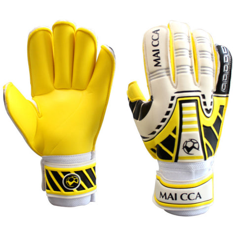 Latex Professional Goalkeeper Gloves Roll Finger    S - Mega Save Wholesale & Retail - 1