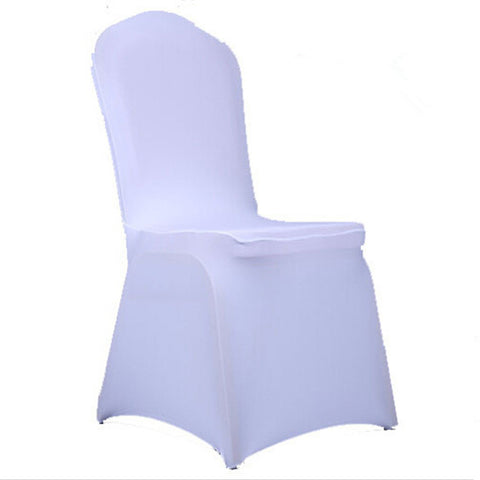100pcs Universal Spandex Stretch Chair Covers Hotel Wedding Party Banquet Decoration - Mega Save Wholesale & Retail