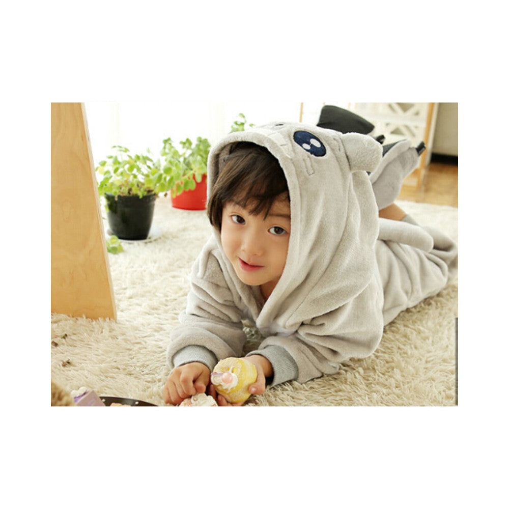 Kids Cute Cartoon Sleepwear Pajamas Cosplay Costume Animal Onesie Suit Fancy Dress    Totoro - Mega Save Wholesale & Retail