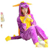 Unisex Adult Pajamas Cosplay Costume Animal Onesie Sleepwear Suit    Dragon - Mega Save Wholesale & Retail