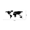 World Map Wall Art Vinyl Decal Stickers Home Decor Removable Mural Free Postage   55*130 - Mega Save Wholesale & Retail - 1