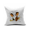 Cotton Flax Pillow Cushion Cover Letter   ZM004 - Mega Save Wholesale & Retail