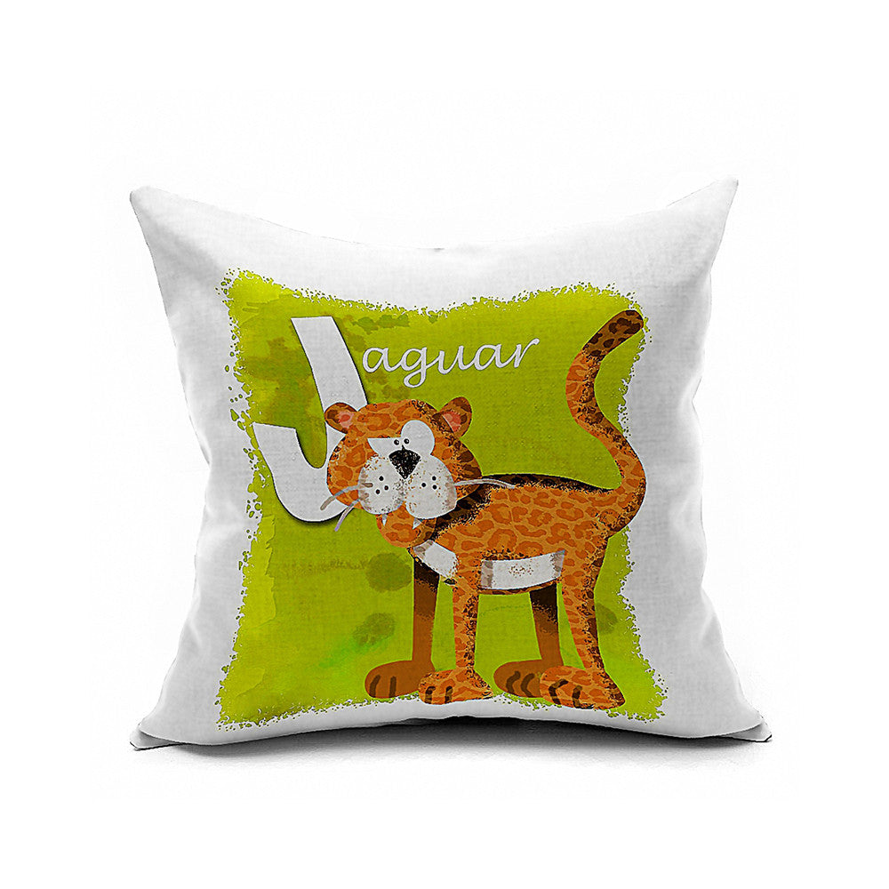 Cotton Flax Pillow Cushion Cover Letter   ZM022 - Mega Save Wholesale & Retail