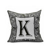 Cotton Flax Pillow Cushion Cover Letter   ZM060 - Mega Save Wholesale & Retail