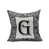 Cotton Flax Pillow Cushion Cover Letter   ZM066 - Mega Save Wholesale & Retail