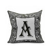 Cotton Flax Pillow Cushion Cover Letter   ZM072 - Mega Save Wholesale & Retail