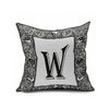Cotton Flax Pillow Cushion Cover Letter   ZM075 - Mega Save Wholesale & Retail
