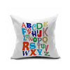Cotton Flax Pillow Cushion Cover Letter   ZM106 - Mega Save Wholesale & Retail