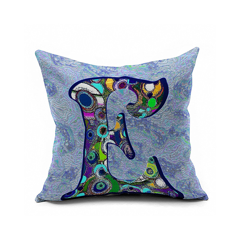 Cotton Flax Pillow Cushion Cover Letter   ZM107 - Mega Save Wholesale & Retail