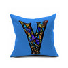 Cotton Flax Pillow Cushion Cover Letter   ZM122 - Mega Save Wholesale & Retail