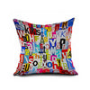 Cotton Flax Pillow Cushion Cover Letter   ZM127 - Mega Save Wholesale & Retail
