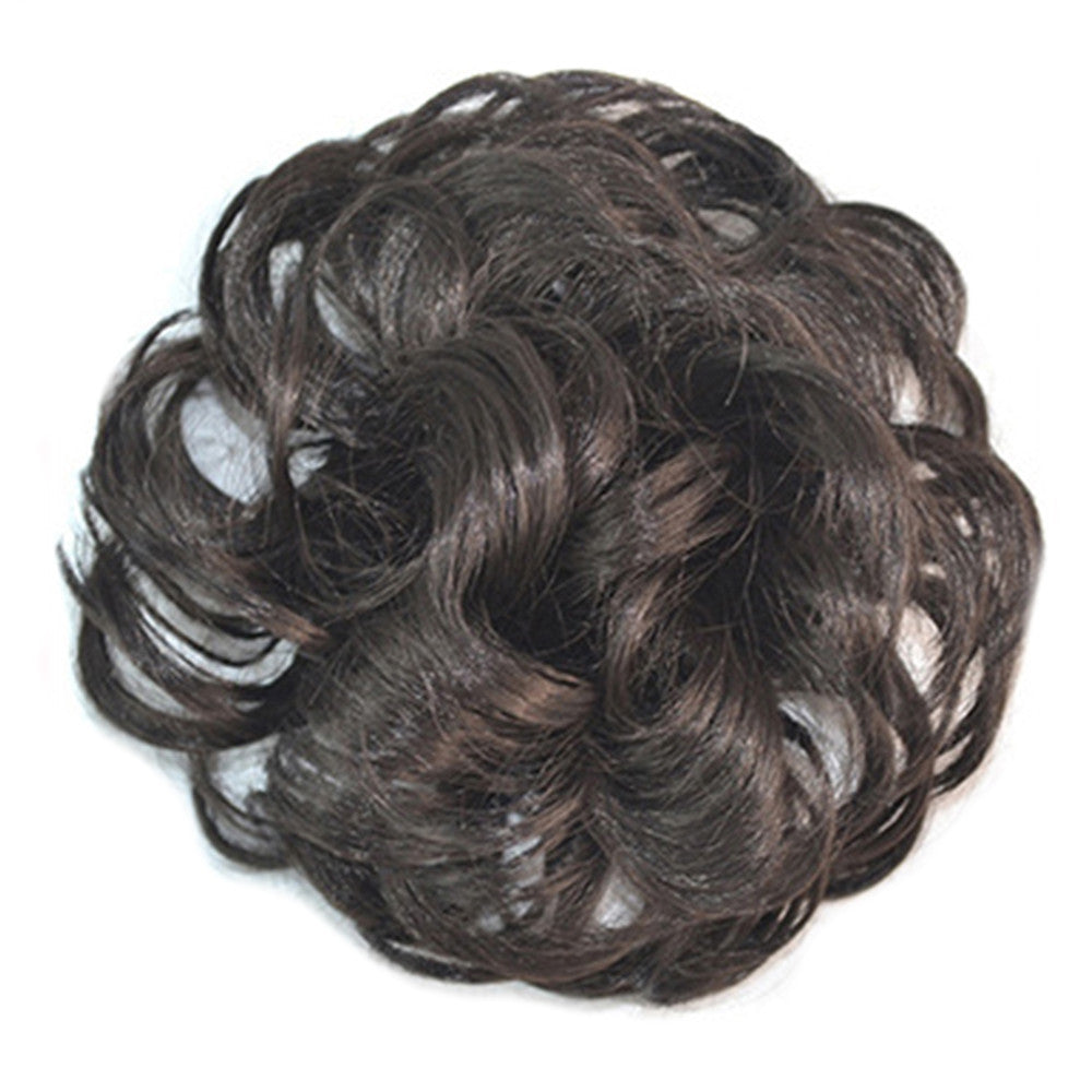 Wig Buckle Type Curled Fluffy Hair Pack natural black - Mega Save Wholesale & Retail - 1