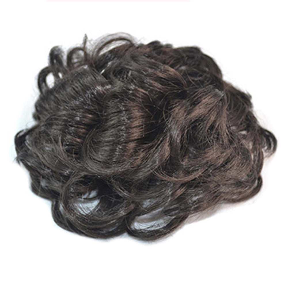 Wig Buckle Type Curled Fluffy Hair Pack natural black - Mega Save Wholesale & Retail - 2