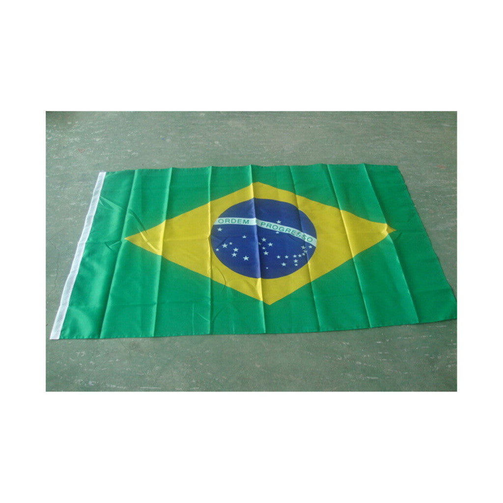 160 * 240 cm flag Various countries in the world Polyester banner flag      Brazil - Mega Save Wholesale & Retail