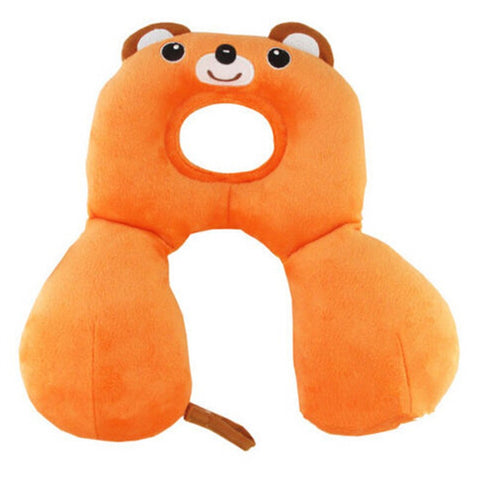 Baby Child Head Neck Support Headrest Travel Car Seat Pillow Cushion Cartoon - Mega Save Wholesale & Retail - 1