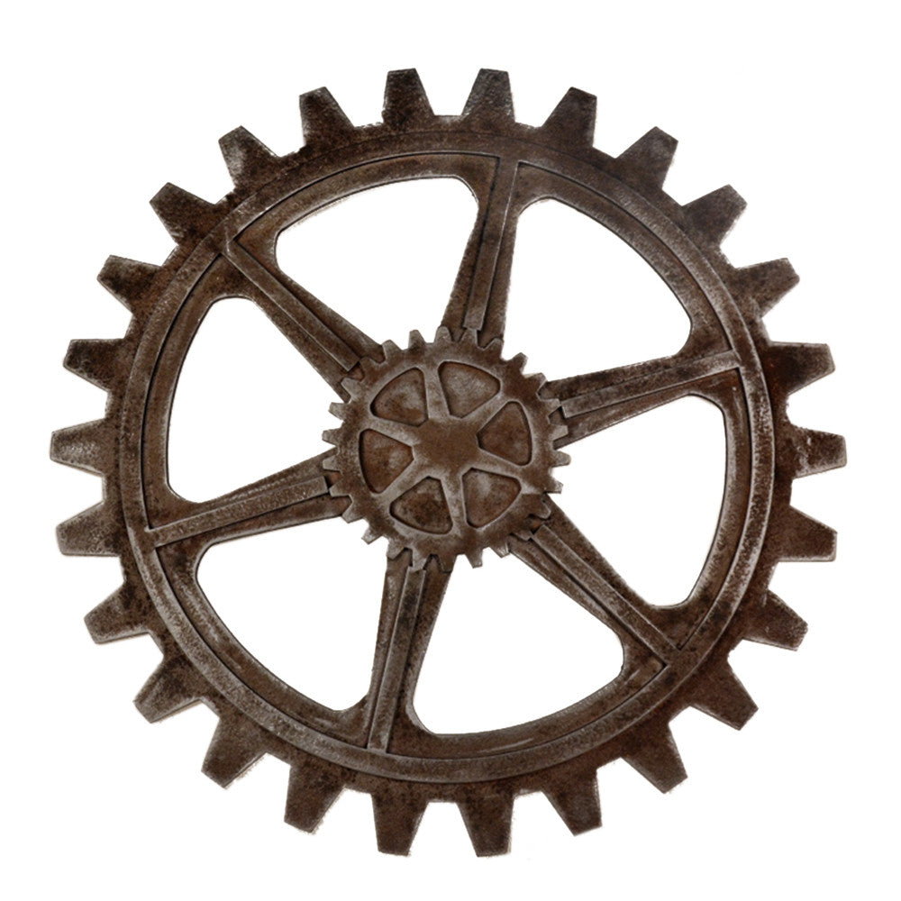 Industrial Style Gear Wall Hanging Decoration   3230 - Mega Save Wholesale & Retail