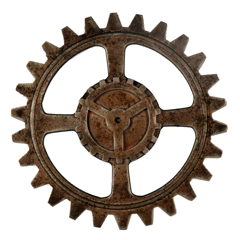 Industrial Style Gear Wall Hanging Decoration   3231 - Mega Save Wholesale & Retail
