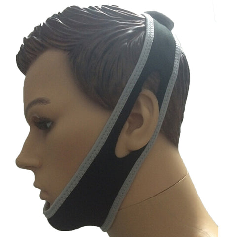 NO SNORE Anti Snoring Jaw Belt Support Chin Straps     Anti Snore Chin Jaw Strap Belt Stop Snoring Sleep Solution Support. - Mega Save Wholesale & Retail - 1