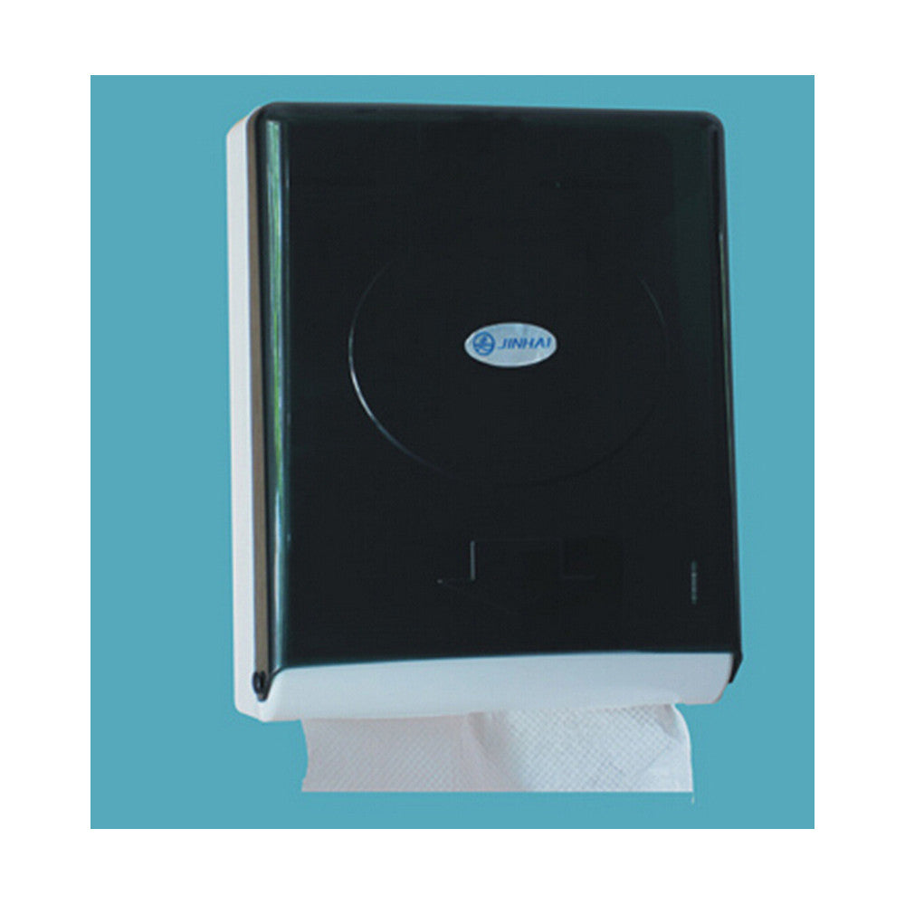 Slimroll White Hard Roll Hand Paper Towel Dispenser Black White Transparent Color - Mega Save Wholesale & Retail - 2
