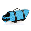 Dog life Jacket Safer Vest Swimming Jacket Flotation Float life Jacket Blue Bone XXS - Mega Save Wholesale & Retail