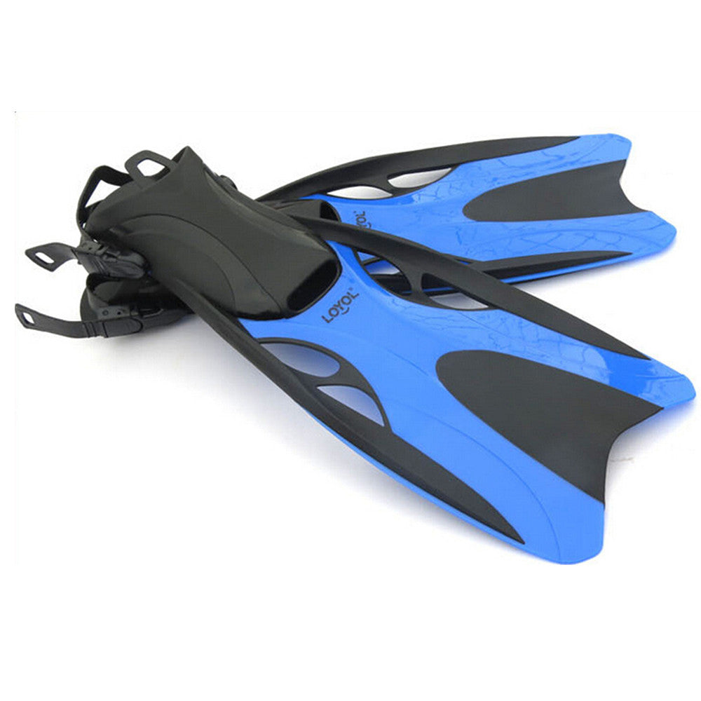 Dive Snorkeling Swimming Scuba Fins Split Fins L Blue - Mega Save Wholesale & Retail