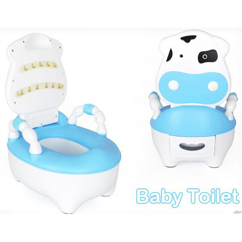 Drawer Back Of A Chair Type Children Baby Toilet Seat Training System   Blue - Mega Save Wholesale & Retail - 1