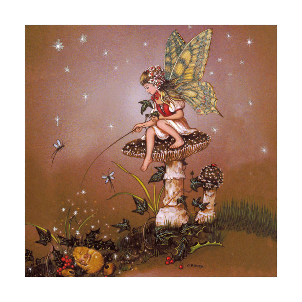 decoration painting angel oil painting cartoon dream forest without frame cotton for painting - Mega Save Wholesale & Retail - 1