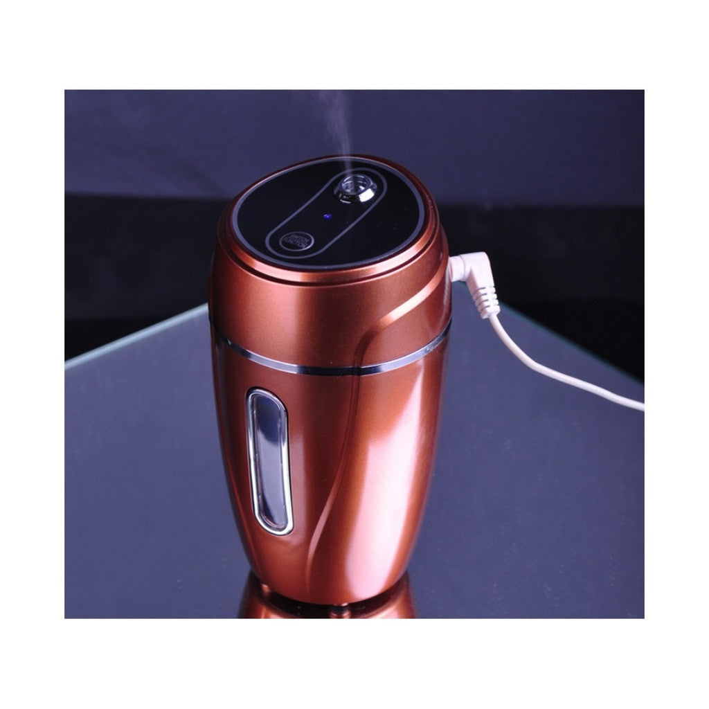 USB Aroma Diffuser Humidifier Air Purifier for Car  Brown - Mega Save Wholesale & Retail