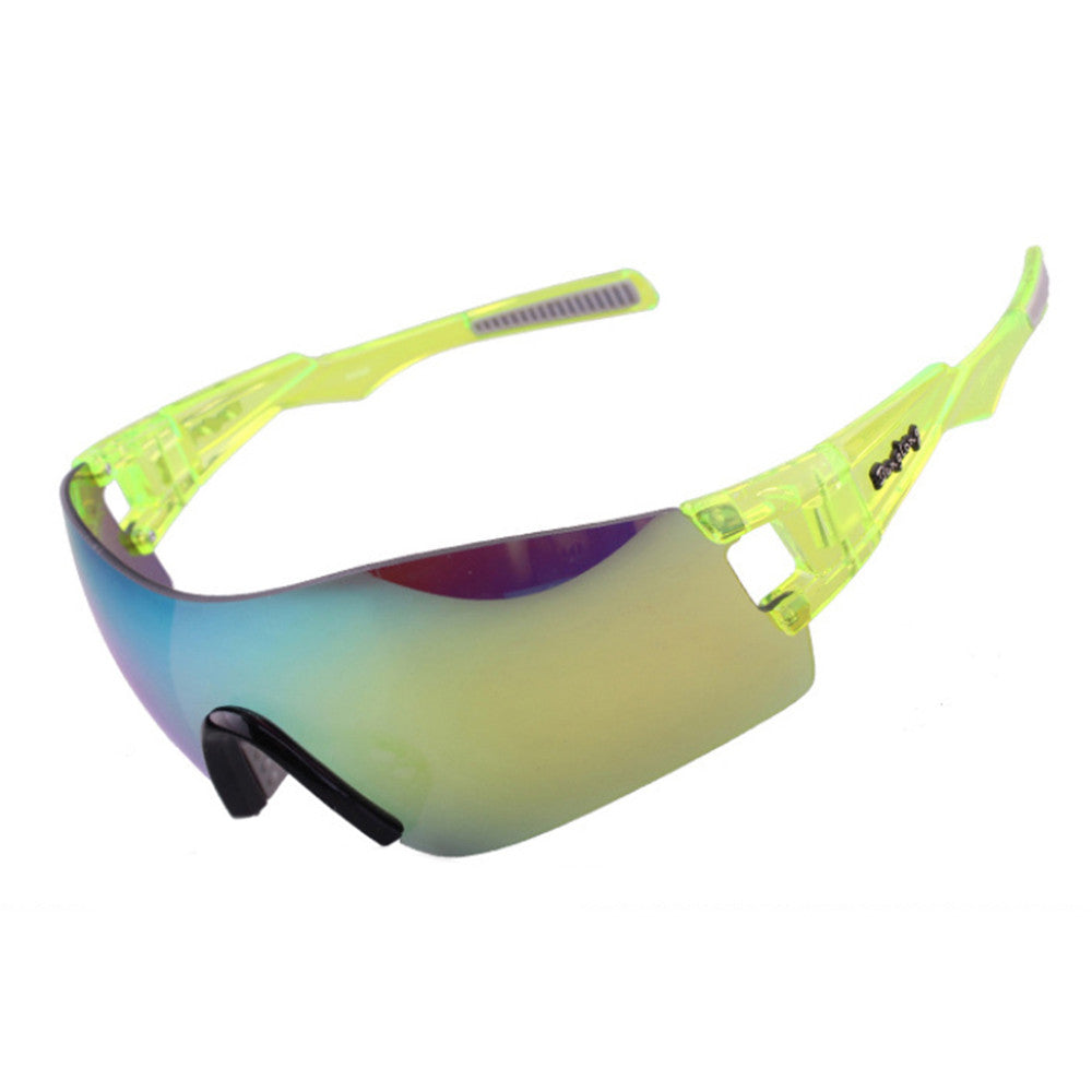 Light Riding Sports Glasses Outdoor XQ368    yellow - Mega Save Wholesale & Retail - 1