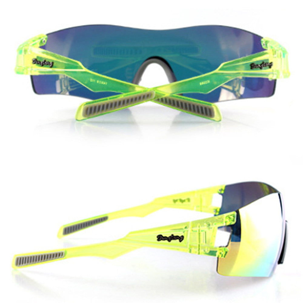 Light Riding Sports Glasses Outdoor XQ368    yellow - Mega Save Wholesale & Retail - 2
