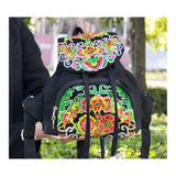 New Yunnan Fashionable Embroidery Bag Stylish Featured Shoulders Bag Fashionable Woman's Bag Bulk 93012   catharanthus roseus - Mega Save Wholesale & Retail - 1