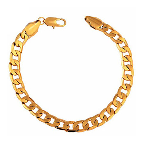 18K Gold Galvanized Bracelet - Mega Save Wholesale & Retail - 1