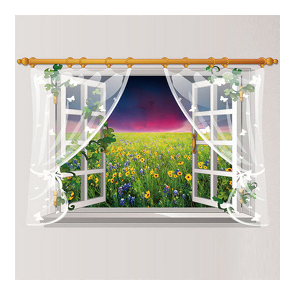 Wallpaper Wall Sticker Scenery Removeable Decoration    SK9020D - Mega Save Wholesale & Retail - 2